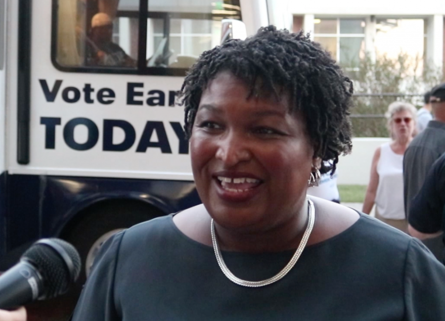Stacey+Abrams+Visits+Georgia+Southern