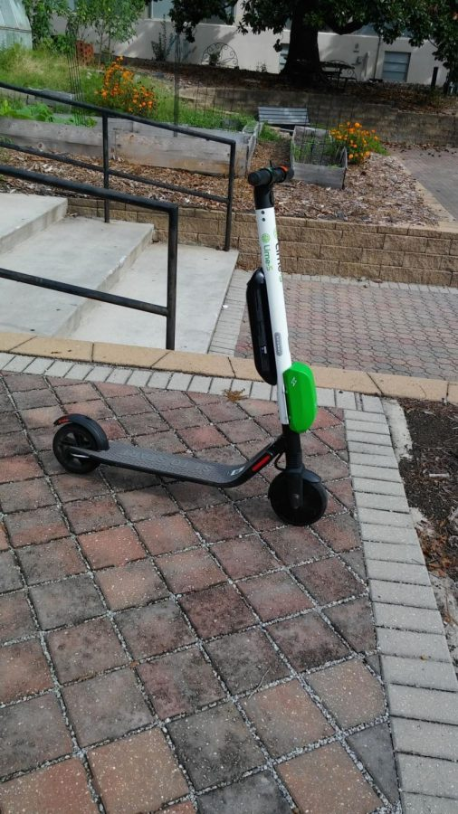 Unlike UGA, who is currently fighting the existence of motorized scooters on their campus, GS has an agreement with Lime. UGA does not have an agreement with Bird, a bike sharing service that came to Athens in August.