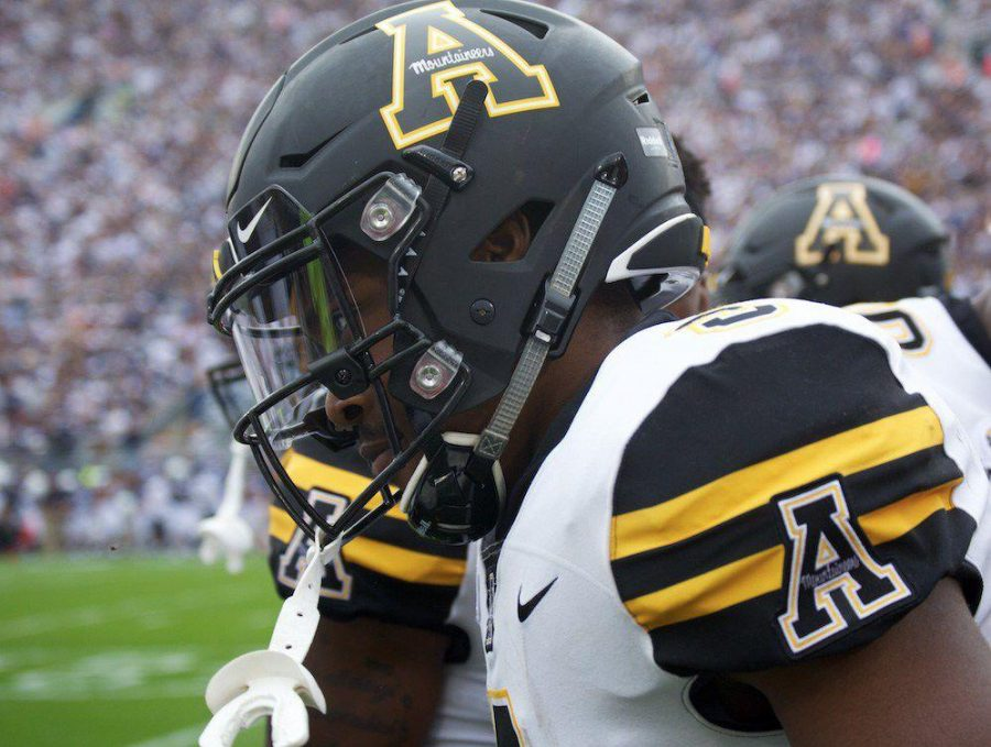 Appalachian State running back Darrynton Evans leads the team in rushing with 425 yards and three touchdowns.