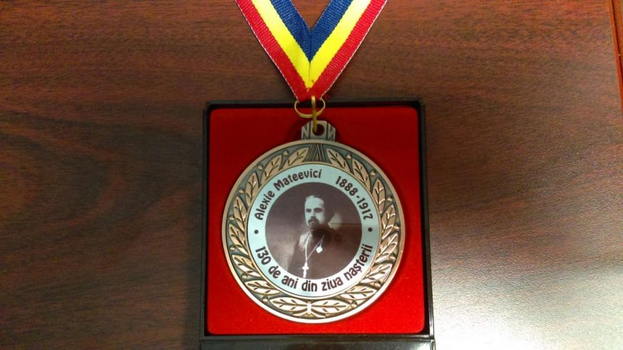 The medal was bestowed to Amarie for her translation work and promotion of Moldovan cultural values abroad for the Republic of Moldovan.