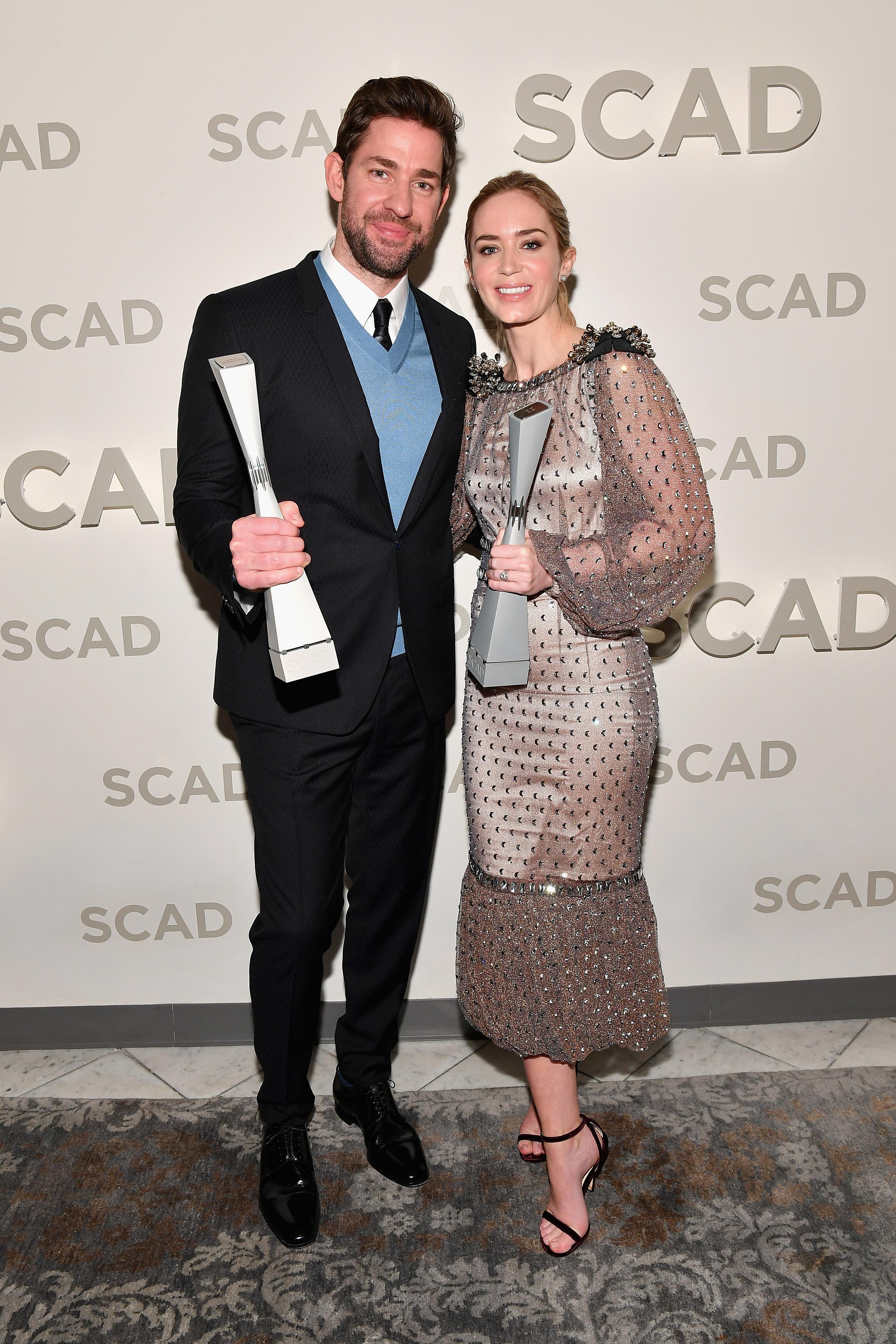 "21st SCAD Savannah Film Festival - Emily Blunt & John Krasinski Award Presentation & Screening Of ""A Quiet Place"""