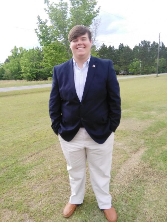 Blaine Salter is the chairman of the Georgia Southern College Republicans. Salter discusses why he is voting for Republican gubernatorial candidate Brian Kemp and other republican candidates.
