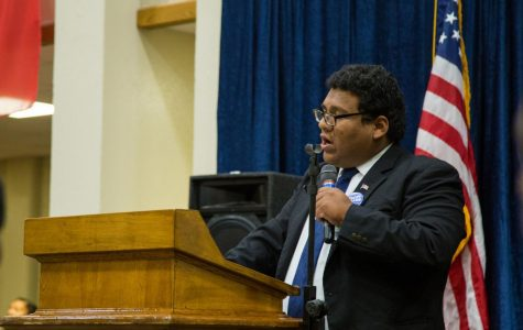 Eduardo Delgadois the president of the Georgia Southern Young Democrats. Delgado discusses why he is voting for Democratic gubernatorial candidate Stacey Abrams and other democratic candidates.