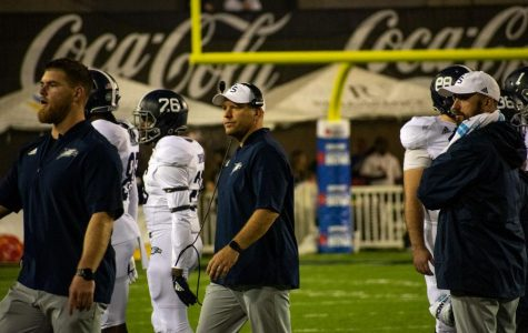 In his first season as head coach, Chad Lunsford went 10-3 as well as leading the Eagles to a bowl win.