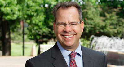 Georgia Southern President Kyle Marrero.