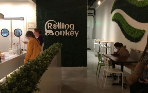 Rolling Monkey founders Garrett and Meagan Clark prioritized the interior to ensure the establishment provided people with an engaging, exceptional experience when they walked through the doors.