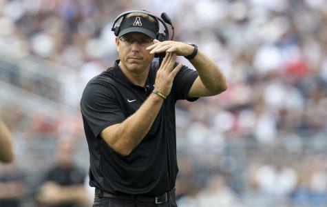 Former Appalachian State head football coach Scott Satterfield took the head coaching job at Louisville following ASU's Sun Belt Championship.
