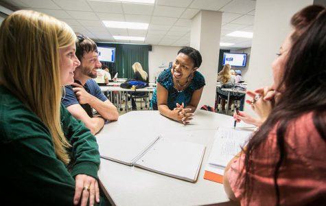 Southern Leaders won a Gold Excellence Award from the National Association of Student Personnel Administrators. Southern Leaders teaches its members leadership skills through volunteer service and special projects.