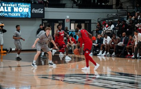 Freshman guard Calvin Wishart (10) logged a career-high of 14 points Wednesday night against the University of South Alabama, contributing to his now 114 total points on the season.