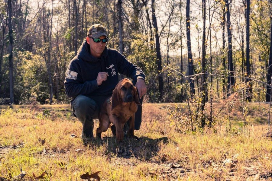 Smokey, a tracking K-9 for the Statesboro Police Department completed his first real-world track. Smokey is expected to join SPD in August.