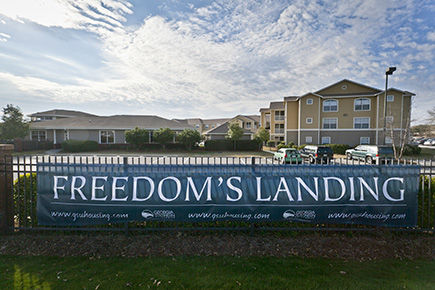 Freedom's Landing will be the only on-campus housing option for upperclassmen next semester due to an expected increase in fall 2019's freshman class.