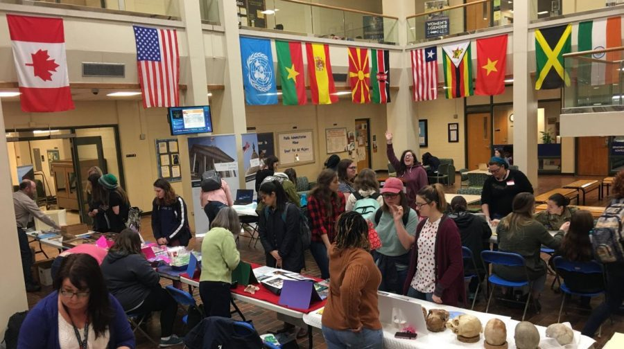 Last year was the first year that the anthropology program celebrated an entire week dedicated to World Anthropology Day. Anthropology professor Jennifer Tookes said hundreds of people attended the event.