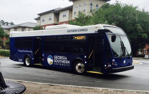 A Georgia Southern student was arrested for simple assault on a heated exchange on a campus bus.