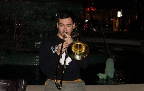 Eric Spencer, a recent GS alumnus will be performing at the PAC Monday as part of the orchestra for
