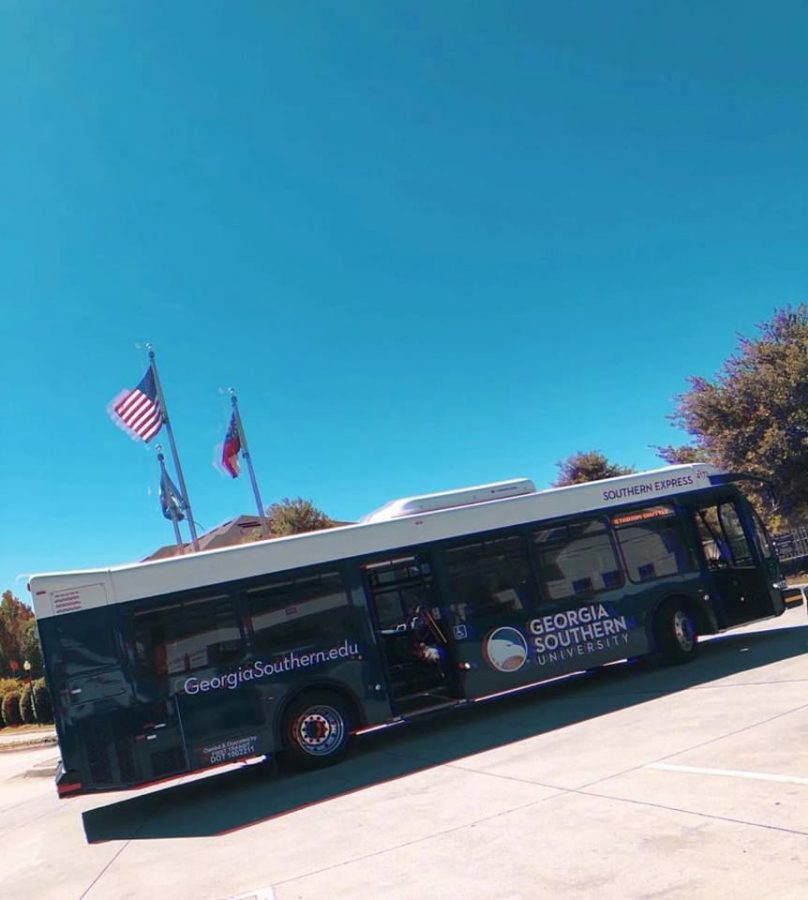 The stadium bus will pick students up from The Hudson and take them to Paulson Stadium. The bus will stop running to The Hudson at 4:00 p.m., as is the regular bus schedule, Derek Davis, director of Parking and Transportation, said.