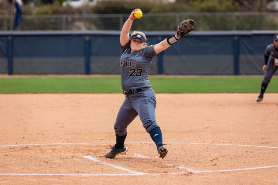 Ashleigh+Morton+%2823%29+has+pitched+for+49+innings+on+the+season+as+well+as+collecting+17+strikeouts.