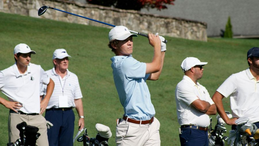 Freshman+Ben+Carr+has+seen+one+top-five+finish+while+shooting+an+average+of+72.24+on+the+course+this+season.
