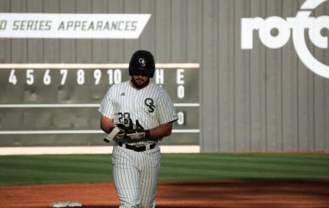 Freshman designated hitter Noah Ledford was named Sun Belt Player of the Week.