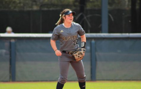 The Georgia Southern softball team needs to gain at least two more wins in this last series against Georgia State to advance to the Sun Belt tournament.