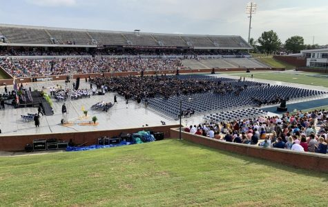 Different colleges went uncalled at Saturday's university-wide commencement cermony.