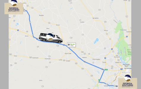 Georgia Southern University will have a shuttle to transport passengers to and from Statesboro campus and Armstrong campus in Savannah.