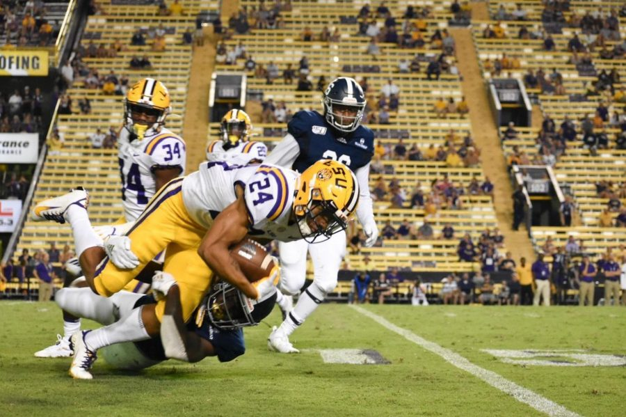 Georgia Southern's defense allowed 473 yards from LSU in their season opening loss.
