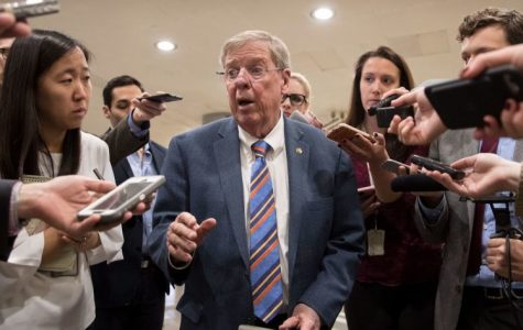 Georgian republican senator Johnny Isakson announced he will be resigning at the end of 2019.