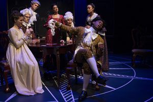 """Theatre auditions for the fall 2019 casts will be held at the Georgia Southern Center for Art and Theatre on August 21. (Pictured is the cast of""""Émilie: The Marquise Du Châtelet Defends Her Life Tonight"""")."""
