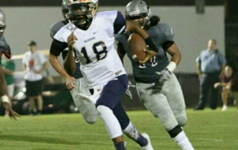 Dual-threat quarterback Jaden Jenkins committed to Georgia Southern in December 2018, but is no longer with the team.