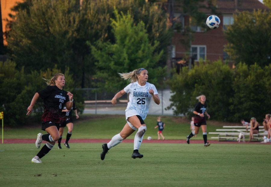 Last season, junior defender Claire Amici started all 19 games.