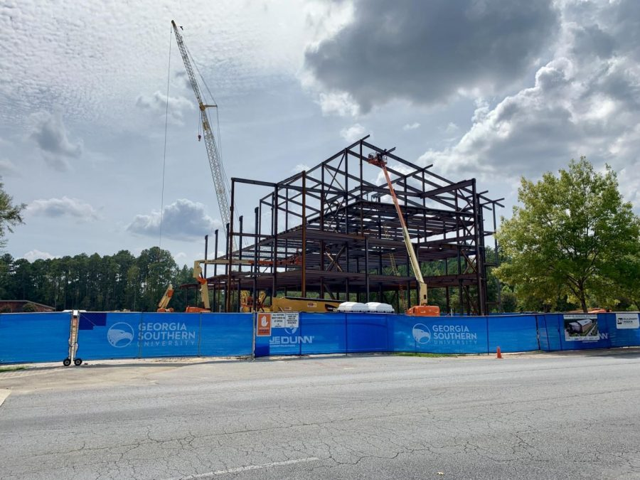 The engineering and research building is scheduled to be completed by November 2020.