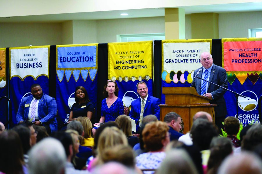 Fall State of the University Addresses Critical Issues
