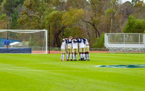 The team has high hopes for the season, finishing 7-7-3 last season with a loss in the Sun Belt Championship game.