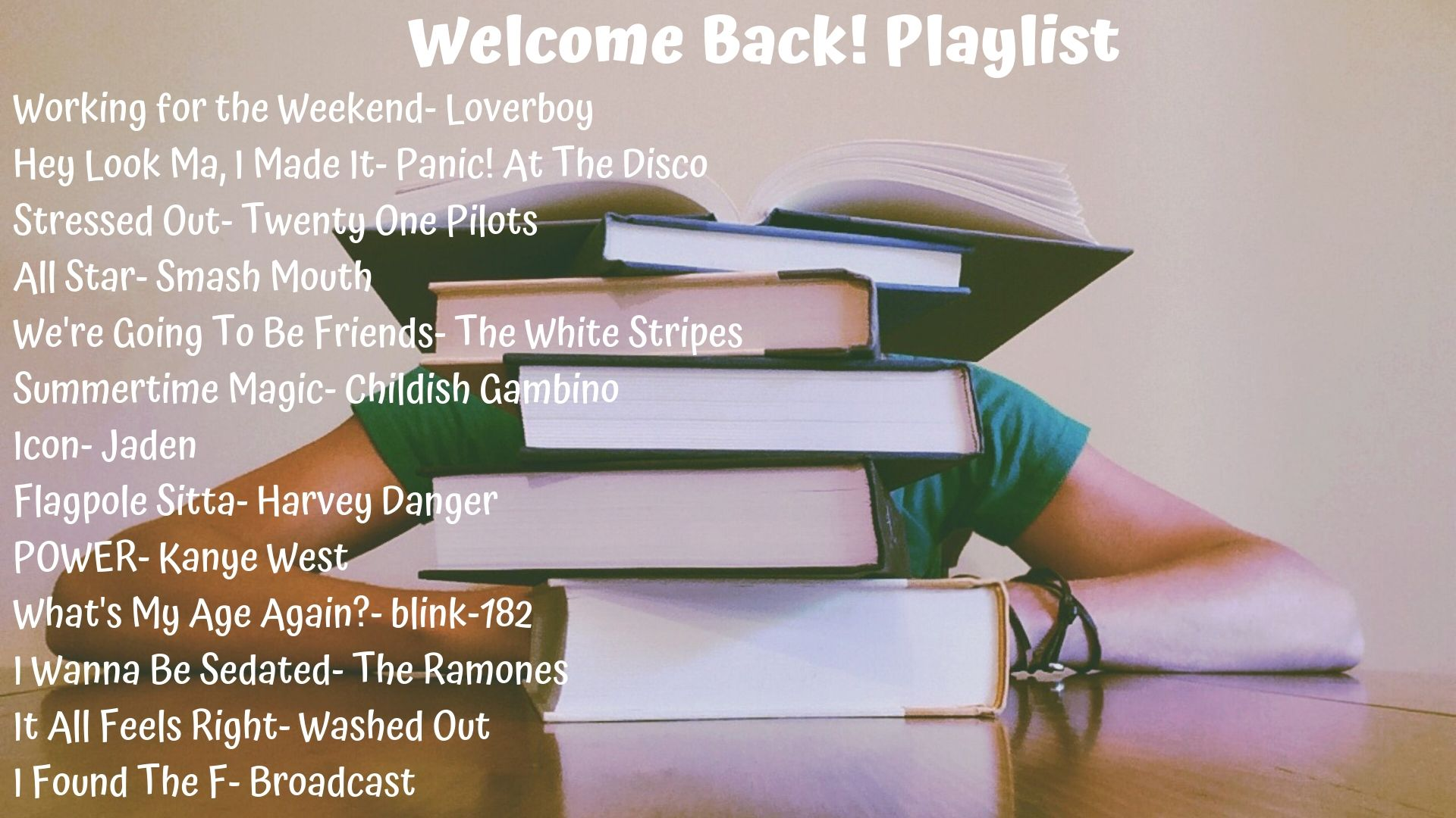 Welcome Back! Playlist