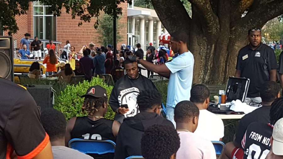 The most recent MOVE event was Barbershop Talk at the Georgia SouthernUnity Festival on Thursday, Sept. 12.
