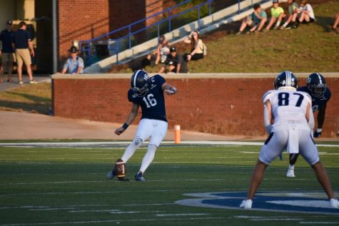 The Georgia Southern football team bounced back against Maine on Saturday with a 26-18 victory at home.