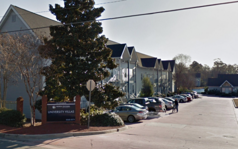 An on-campus rape was reported at University Villas Sunday.