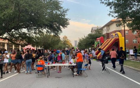 Fire throwers and rock climbing walls highlight annual Unity Fest Carnival
