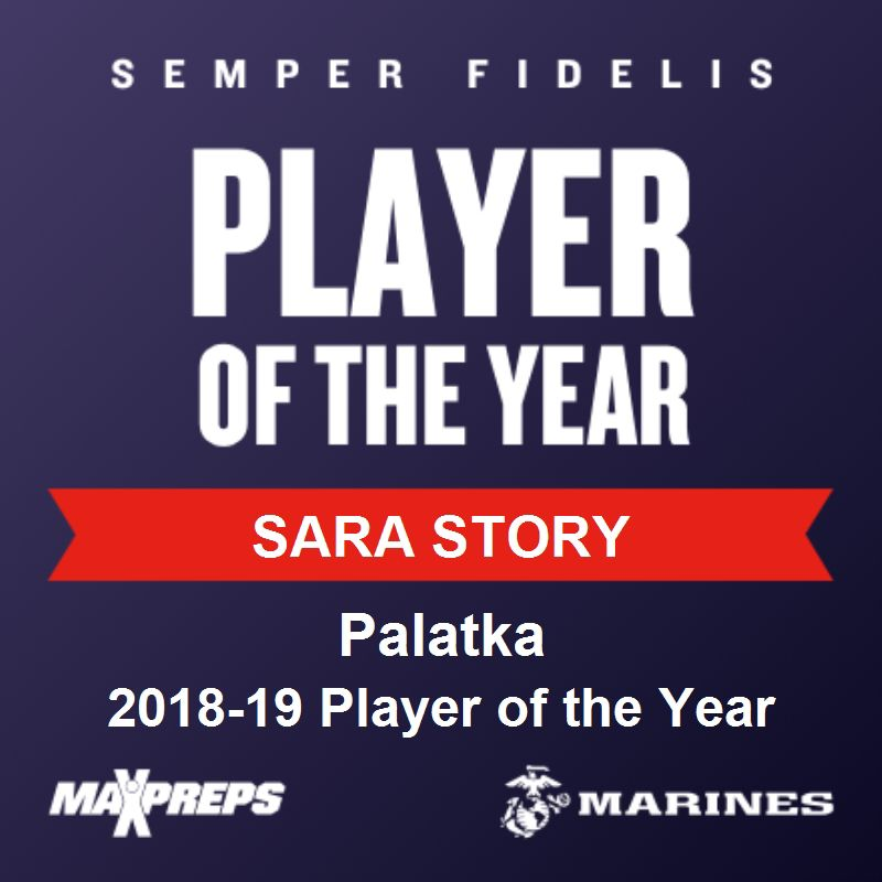 Story received player of the year her senior season before enrolling early at Georgia Southern in January.