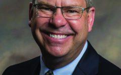 Headshot of University President Dr. Kyle Marrero Photo by Georgia Southern University.