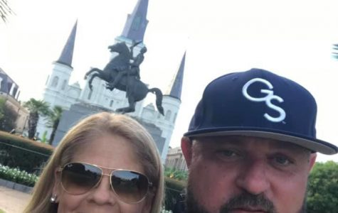 Georgia Southern alumni Danny and Julie Hagan were killed in an auto accident Sunday night on their way back from Baton Rouge, Louisiana.
