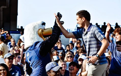 The Georgia Southern football team won on Saturday against New Mexico State, while the men's tennis team had a strong showing at the ITA Regional Championships.