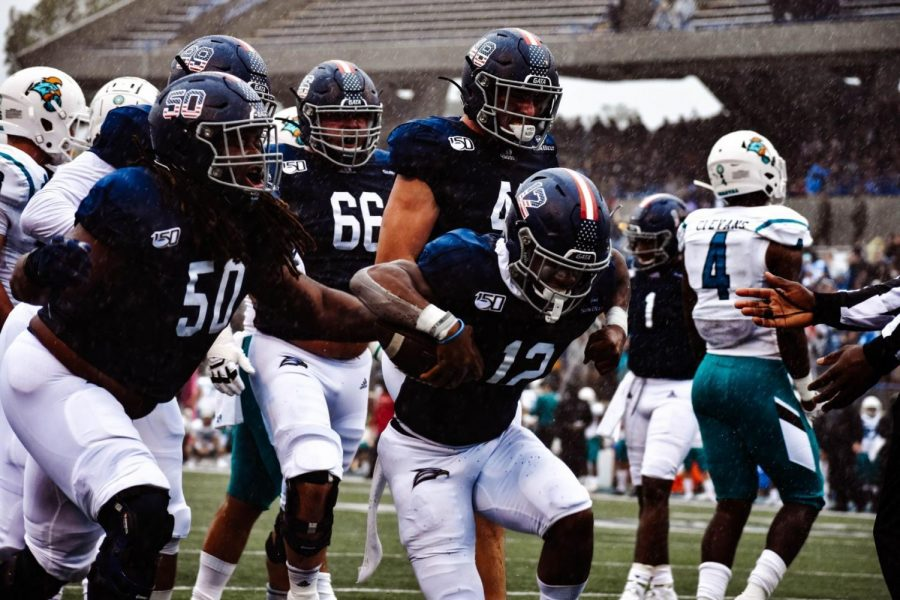 The Georgia Southern football program is 2-0 in bowl games.