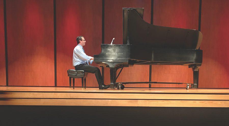 Dr. Benjamin Warsaw Performs at Piano in the Arts
