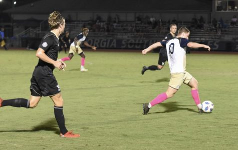 The Georgia Southern men's soccer defeated Wofford, 3-2, on Friday.