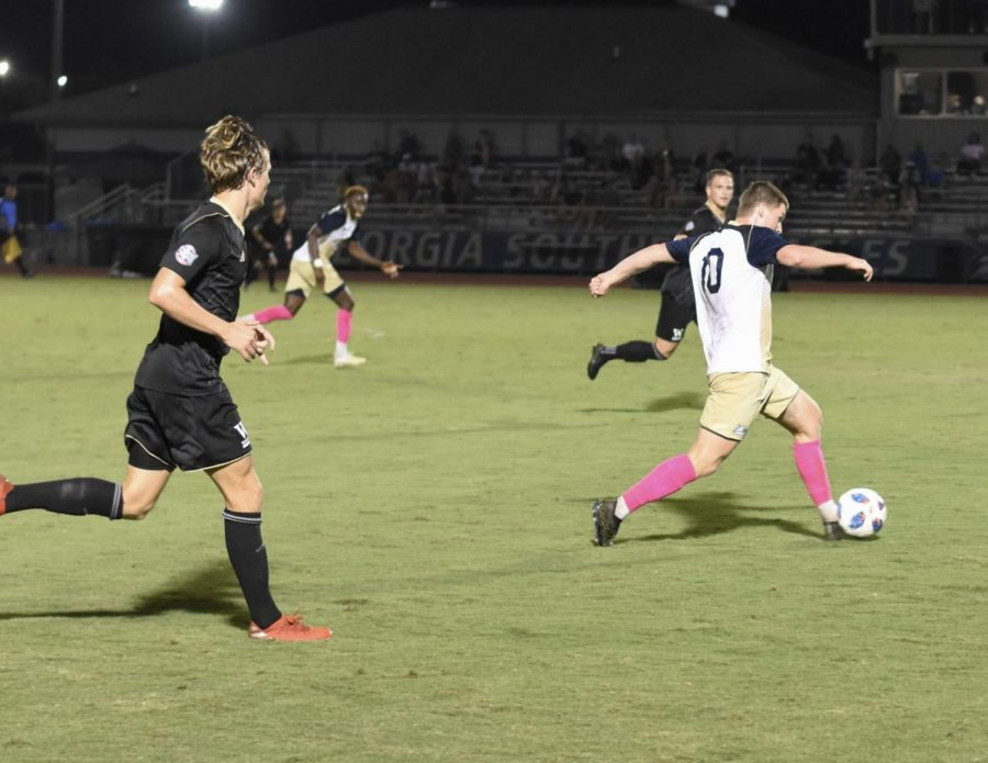 The+Georgia+Southern+men%27s+soccer+defeated+Wofford%2C+3-2%2C+on+Friday.