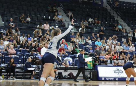 The Georgia Southern volleyball team will take on Troy at 6:30 p.m.