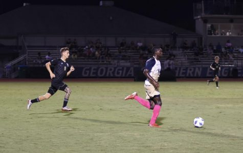 The Georgia Southern men's soccer team holds a 6-6-2 record after Tuesday's tie.