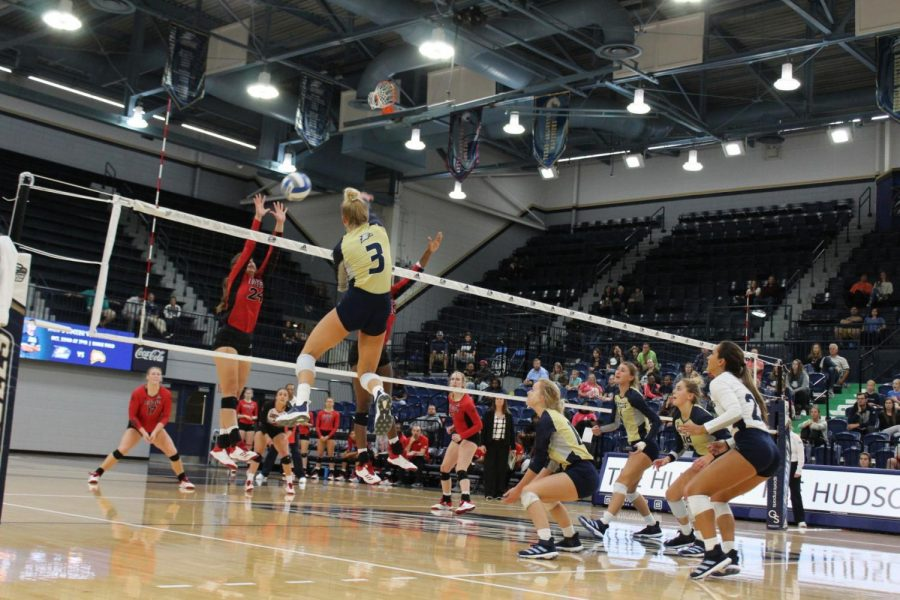 After this loss the Georgia Southern volleyball team's record falls to 7-19, and they are 2-13 in conference play.