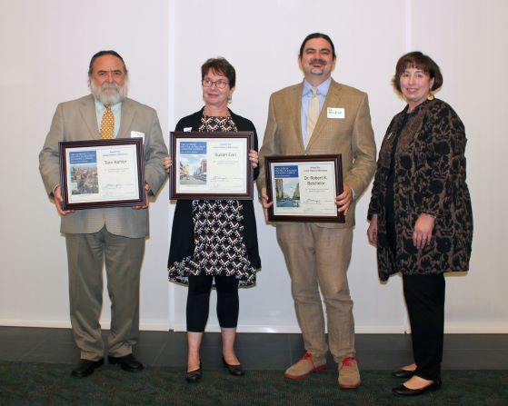 This was the 17th annual GHRAC awards and was hosted at the Georgia Archives. The GHRAC has a mission to promote the educational use of Georgia's documentary heritage and support the conditions of records throughout Georgia.